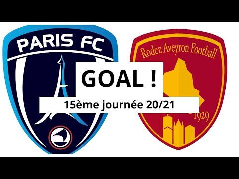 Paris FC Rodez Goals And Highlights
