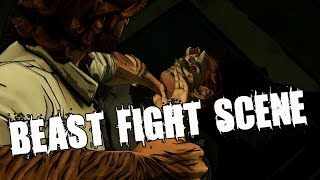 The Wolf Among Us Episode 2 Smoke and Mirrors Beast Fight Scene