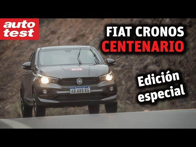 Versión especial: Fiat Cronos Centenario