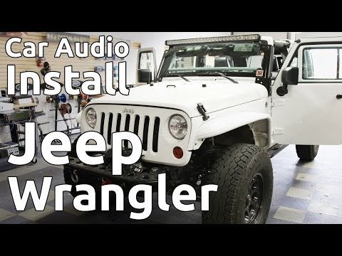 2012-jeep-wrangler-w/-roll-cage-speaker-&-amplifier-install-|-in-depth-procedure