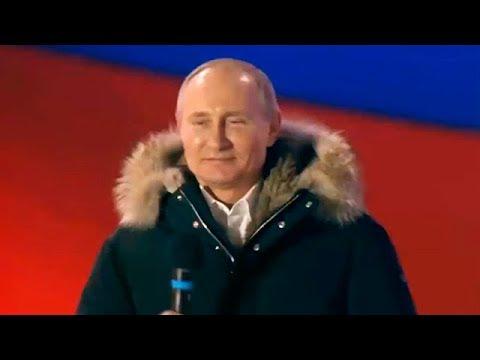 Владимир Путин выступил на Манежной площади