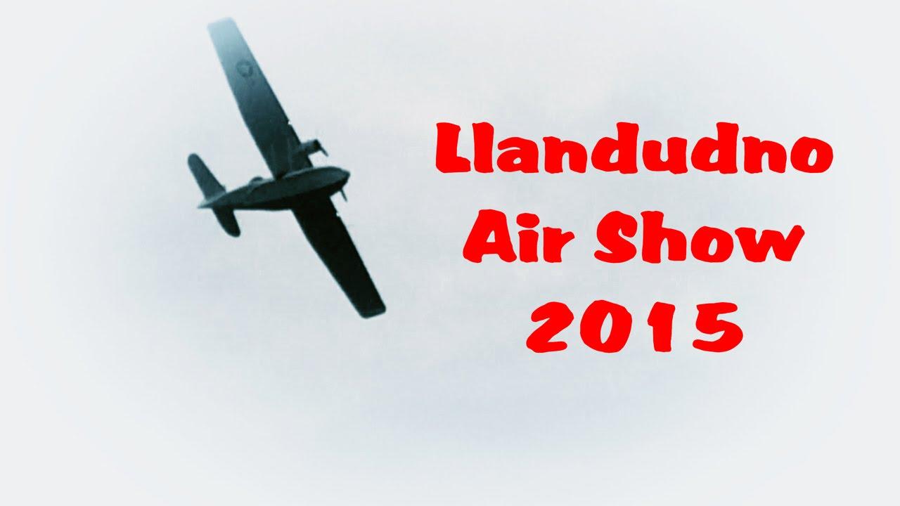 Llandudno air show 2015 youtube for Air show 2015