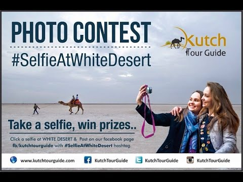 Selfie Contest At White Desert by Kutch Tour Guide
