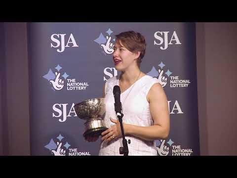 #SJA2018 - Lizzy Yarnold wins SJA Pat Besford Award