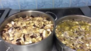 Маринование белых грибов  по Бабушкиному рецепту.