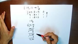 Восьмеричная система счисления. Урок 3