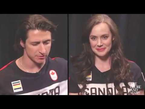 How Well Do Tessa Virtue and Scott Moir Know Each Other? G&M