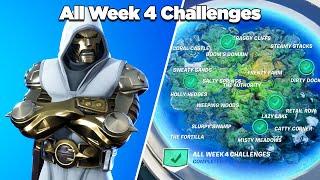 Fortnite All Week 4 Challenges Guide (Fortnite Chapter 2 Season 4)