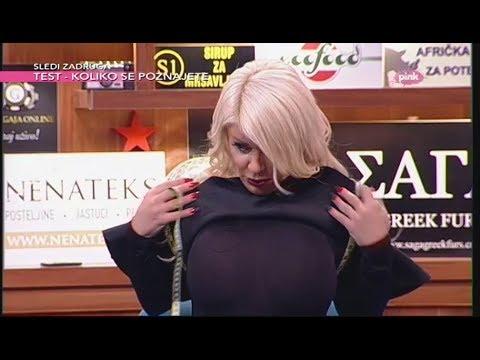 Ko ima veće grudi? - Seka Aleksić i Dara Bubamara (Ami G Show S10)