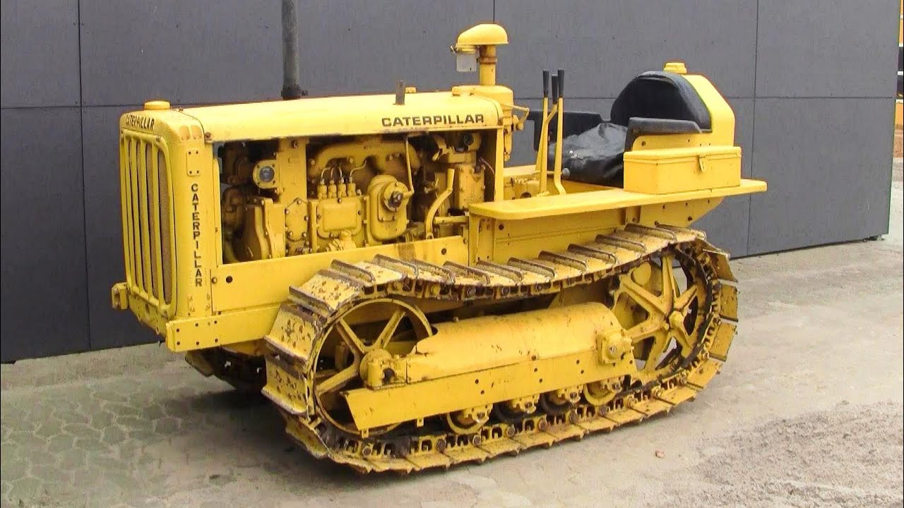 Old Antique Caterpillar Tractors : Antique caterpillar tractor parts related keywords
