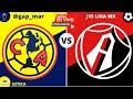 AMÉRICA VS ATLAS  ¡¡EN VIVO GUARDIANES 2020 LIGA MX!! (NARRACIÓN RADIO)
