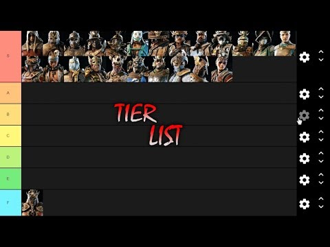 For Honor Feats Tier List