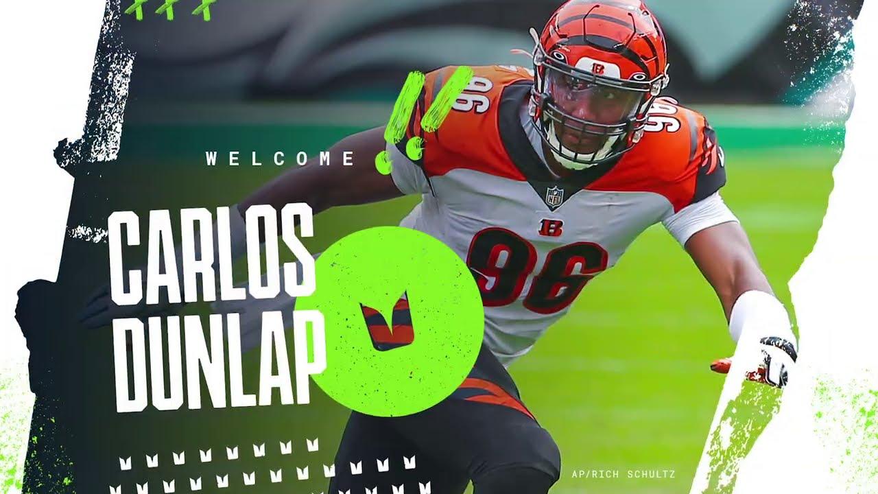 Carlos Dunlap Highlights | Seattle Seahawks Trade with Cincinnati Bengals