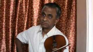 OUR SUNDAY; INDIAN CLASSICAL MUSIC;VIOLIN By Sri SIDDHABATTULA JAGANMOHANA RAO