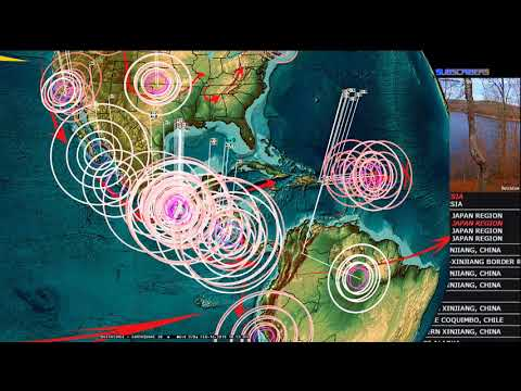 2/16/2018 -- Italy + South Europe new Earthquake watch -- West Pacific unrest spreading