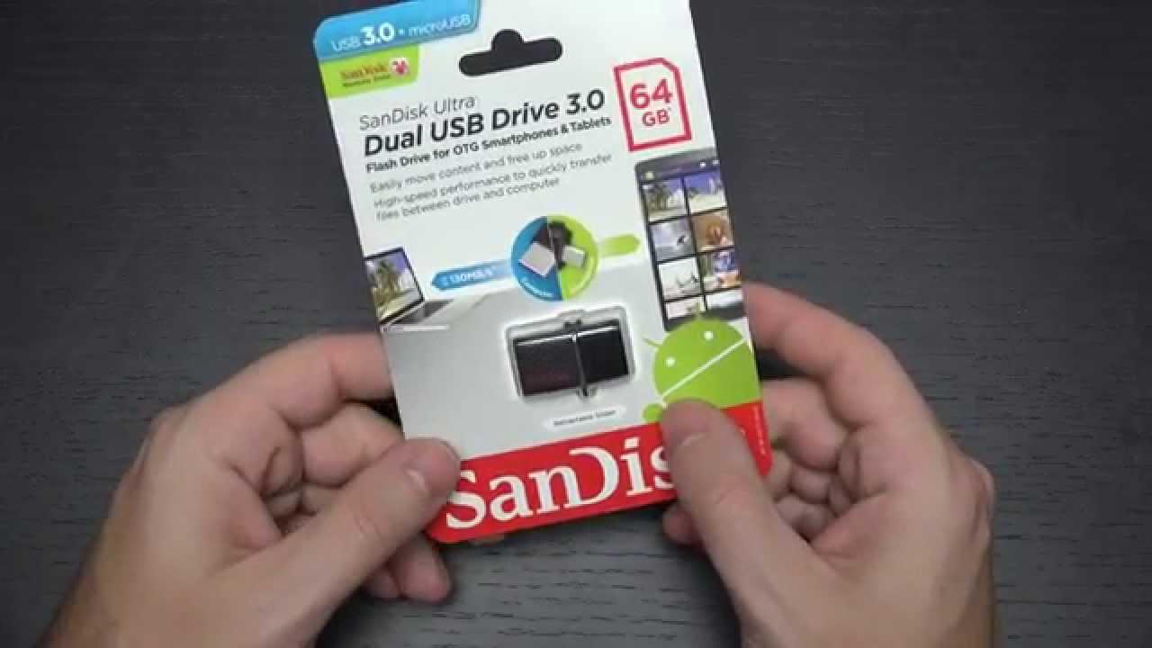 Sandisk Ultra Dual Usb Micro 64gb Otg Jump Drive Youtube 30 Sddd2 128gb