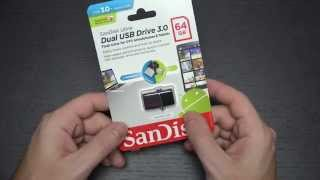 SanDisk Ultra Dual USB Micro 64GB OTG Jump Drive