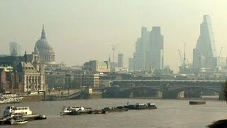 High levels of air pollution hit London and other parts of England