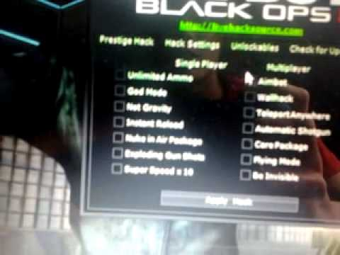 how to use black ops 2 multihack