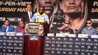 ADRIEN BRONER v CARLOS MOLINA - FINAL PRESS CONFERENCE / BRONER TRASH TALKING -