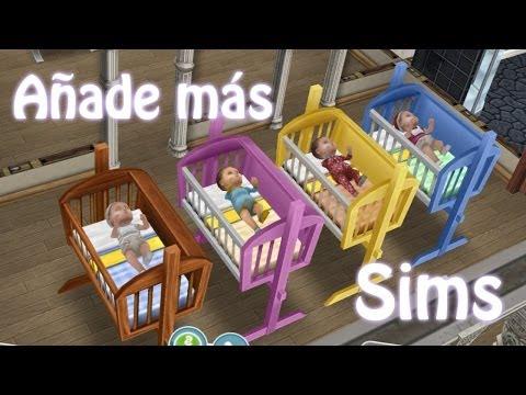 Sims Gratuito    Tip: Añade más de 32 sims a tu ciudad (HASTA v.5.2.2)