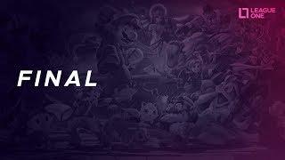 Super Smash Bros - GRAND FINAL - Y.U.F.U x NATHAN - League One 2018