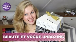 "Unboxing ""Beauté et Vogue"" Box Thumbnail"