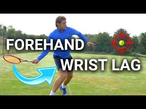 Tennis Forehand Wrist Lag in 3 Steps - Forehand Lag Explained