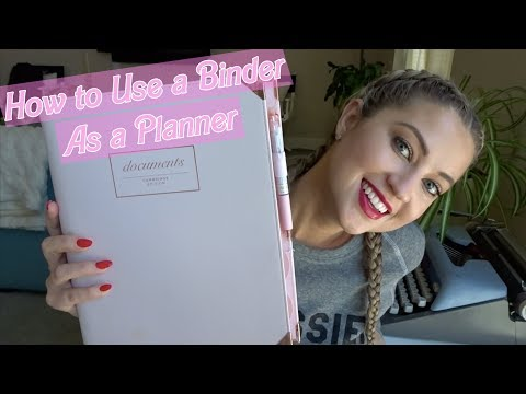 USING A BINDER AS A PLANNER | HOW TO ORGANIZE YOUR ENTIRE LIFE