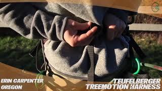 Klettergurt Treemotion : Treemotion saddle