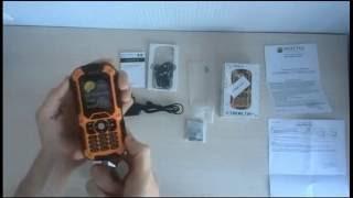 Распаковка мобильного телефона Sigma mobile X-treme IT67