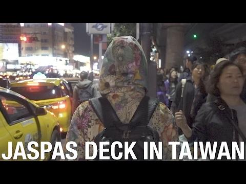 Jaspas Deck's Journey to Taiwan begins!! Visiting Shilin Night Market.