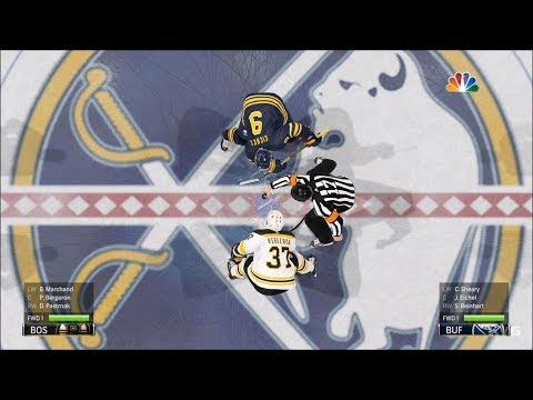 NHL 19 - Buffalo Sabres vs Boston Bruins - Gameplay (HD) [1080p60FPS]