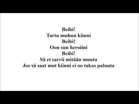 Haloo Helsinki! - Beibi, Instrumental Cover/Karaoke