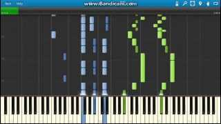 G. Verdi - La Traviata: Drinking Song (Libiamo ne' lieti calici). Piano (Synthesia)