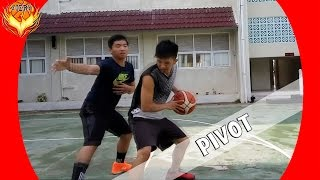 Tips Dan Drill Cara Pivot Didalam Permainan Bola Basket Youtube