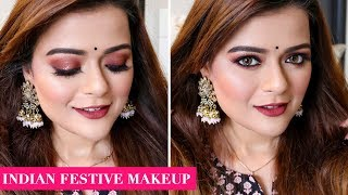 Durga Puja & Navratri 2019 Makeup Tutorial