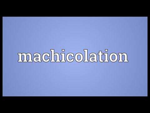 Header of machicolation