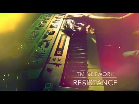 Resistance - TM NETWORK <昔のLIVE風に打ち込み&即興演奏>
