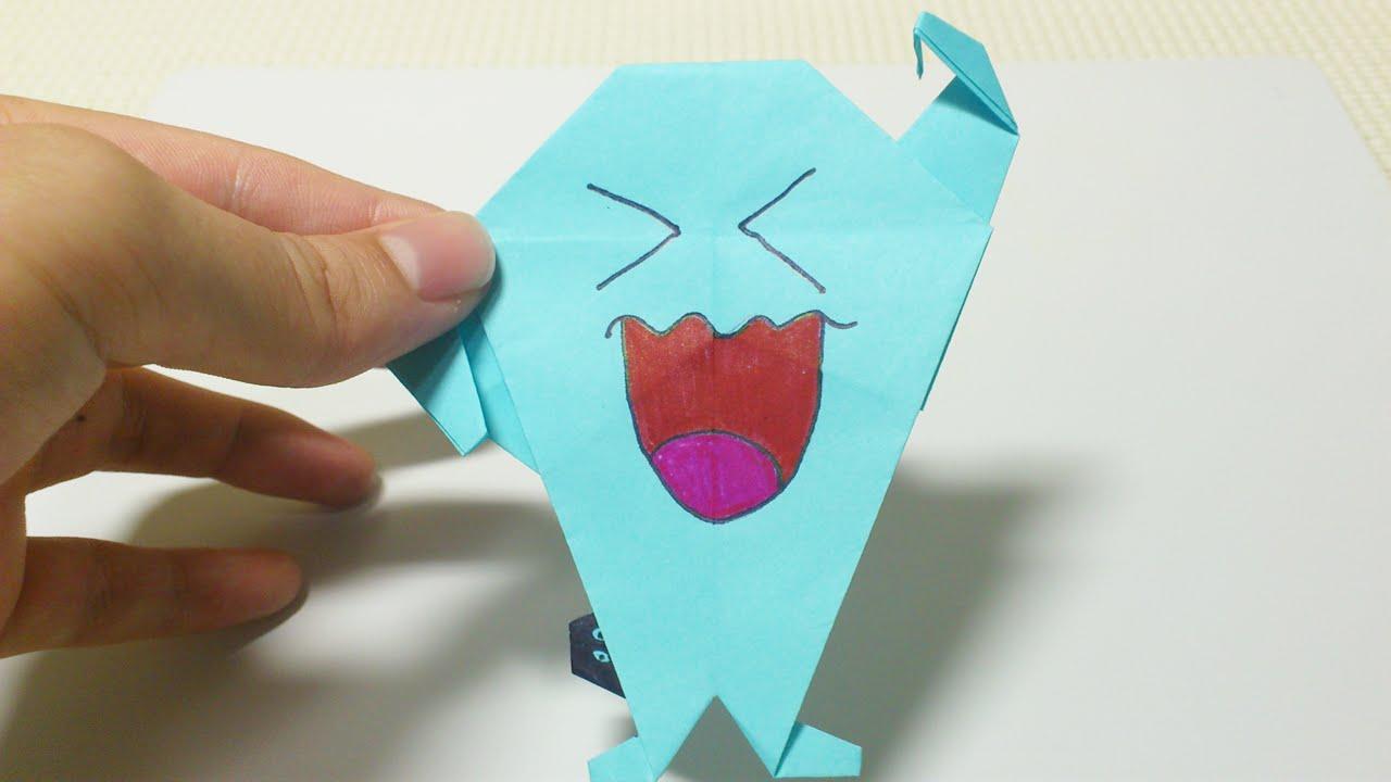 ポケモン 折り紙 ソーナンス折り紙 折り方pokemon Sonansuhow To