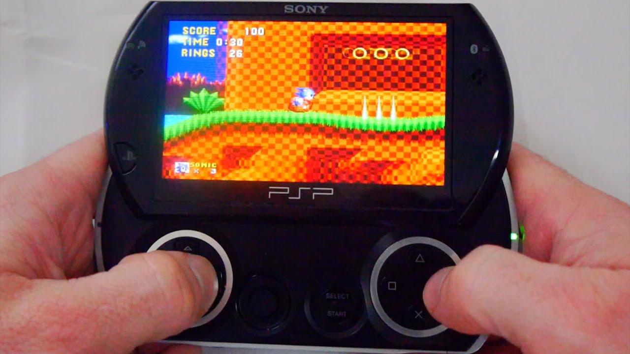 Sony PSP Go - The Ultimate Retro Gaming Machine
