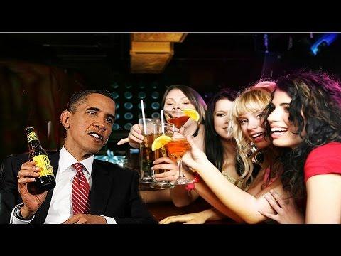 Барак Обама вместе с Юрием Моша на корабле в Нью-Йорке США thumbnail