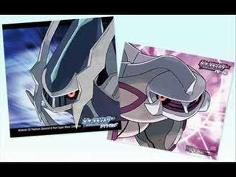 Pokemon D/P Music  - Dialga/Palkia Battle