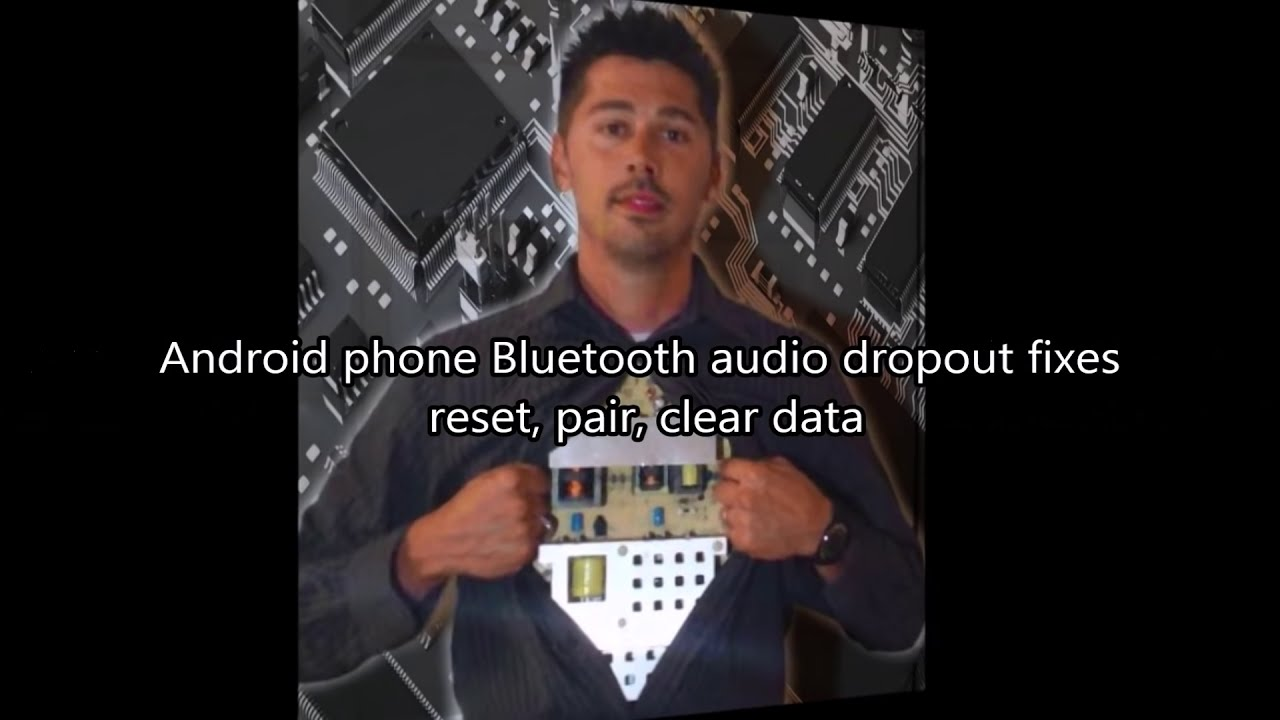 How To Fix Bluetooth Audio Dropout On Android Phones / Tablets  Tampatec  02:40 HD
