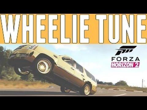 Forza Horizon 2 : How to Make a Wheelie / hydraulic based car in Forza Horizon 2