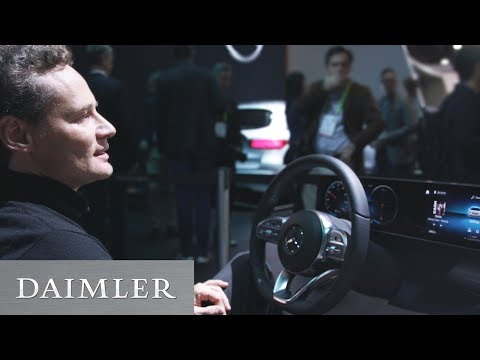 Mercedes-Benz User Experience – intelligent und sieht gut aus