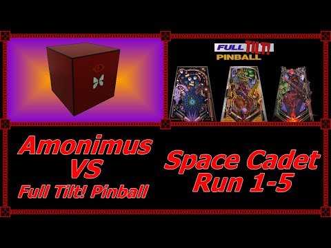 Amonimus VS Full Tilt! Pinball (Space Cadet Run 1-5)