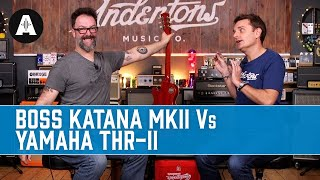 Boss Katana 50 MkII vs Yamaha THR30-II - Which One Is Best For Home Use?