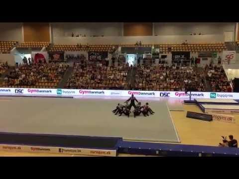 TeamGym Aarhus Rytme Winner Final 2016