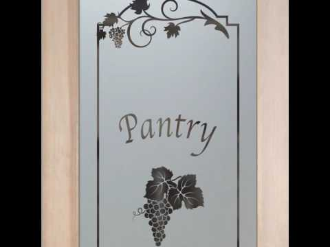 Dining Ideas The Perfect Frosted Glass Pantry Door Youtube